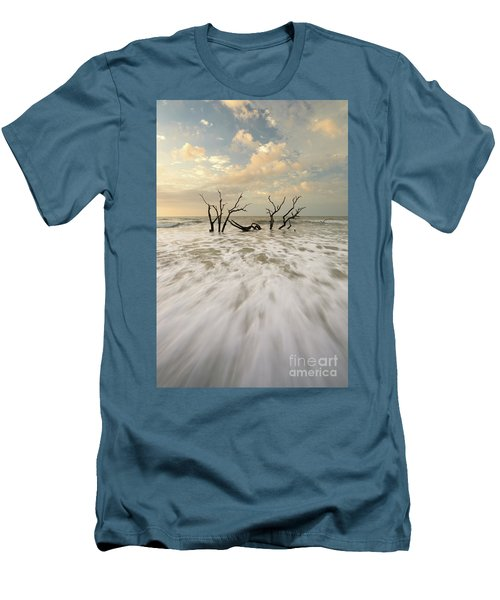 Botany Bay In South Carolina Men's T-Shirt (Athletic Fit)