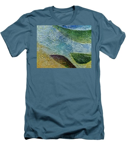 Men's T-Shirt (Slim Fit) featuring the painting Botany I by John Hansen