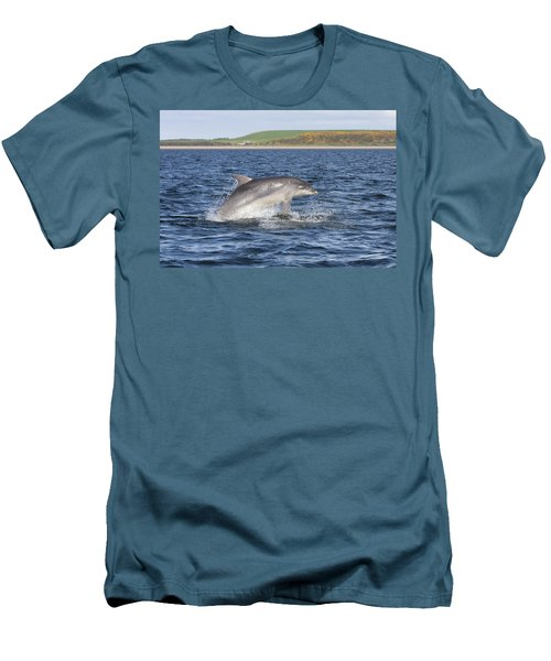 Bottlenose Dolphin - Scotland  #32 Men's T-Shirt (Athletic Fit)
