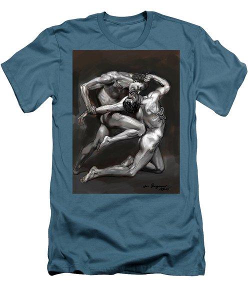 Bouguereau Study 2 Men's T-Shirt (Athletic Fit)