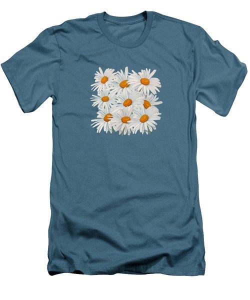 Bouquet Of White Daisies Men's T-Shirt (Athletic Fit)