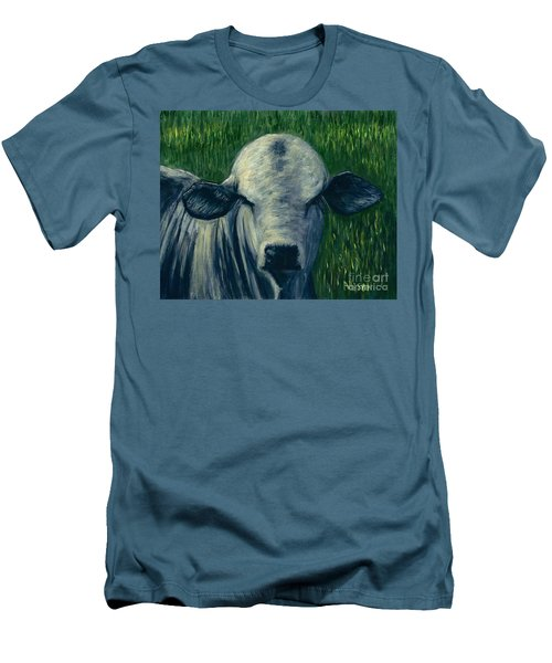 Brahma Bull  Men's T-Shirt (Athletic Fit)