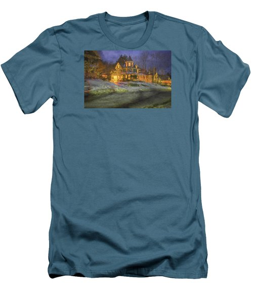 Brattleboro Victorian II Men's T-Shirt (Slim Fit) by Tom Singleton