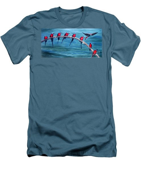 Break Time Men's T-Shirt (Athletic Fit)
