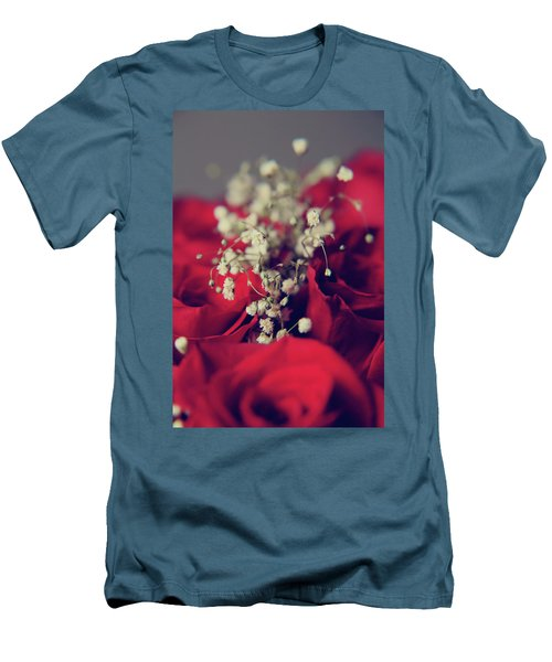 Men's T-Shirt (Slim Fit) featuring the photograph Breath by Laurie Search