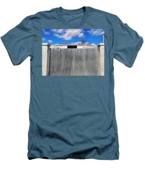 Breathe Deep Men's T-Shirt (Athletic Fit)