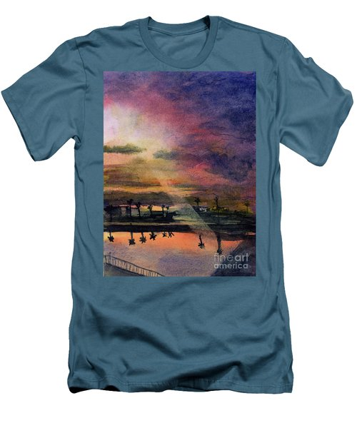 Brenda's Bay Men's T-Shirt (Athletic Fit)