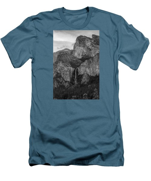 Bridalveil Falls Men's T-Shirt (Athletic Fit)