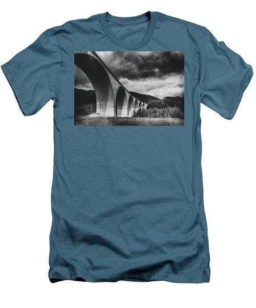 Men's T-Shirt (Slim Fit) featuring the photograph Bridge by Hayato Matsumoto