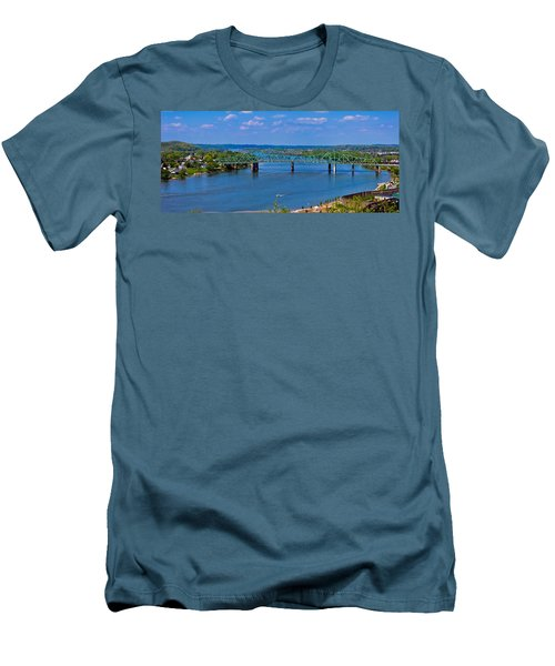 Bridge On The Ohio River Men's T-Shirt (Athletic Fit)