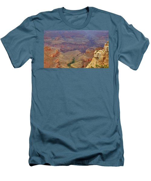 Bright Angel Trail Men's T-Shirt (Athletic Fit)