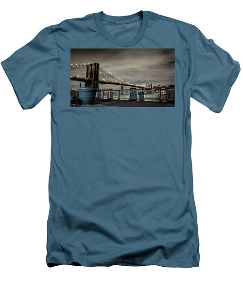 Brooklyn Manhattan Dockside Men's T-Shirt (Athletic Fit)