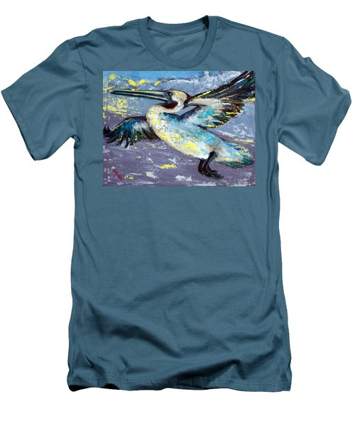Brownie Into The Sunset Men's T-Shirt (Slim Fit)