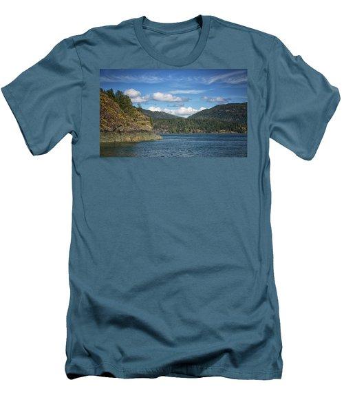 Browns Bay Men's T-Shirt (Slim Fit) by Randy Hall