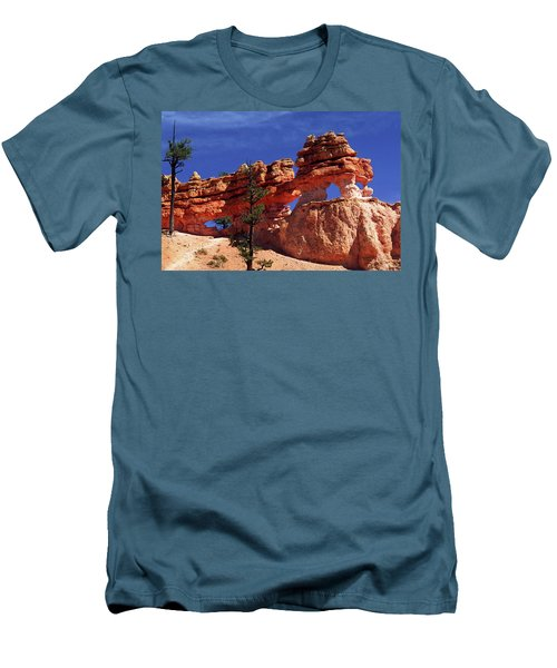Men's T-Shirt (Slim Fit) featuring the photograph Bryce Canyon National Park by Sally Weigand