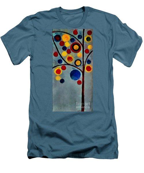 Bubble Tree - Dps02c02f - Left Men's T-Shirt (Athletic Fit)