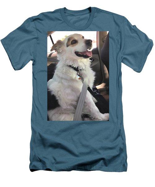 Buckle Up Men's T-Shirt (Athletic Fit)