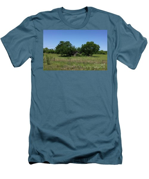 Men's T-Shirt (Slim Fit) featuring the photograph Buda Sweet Home - #42116 by Joe Finney