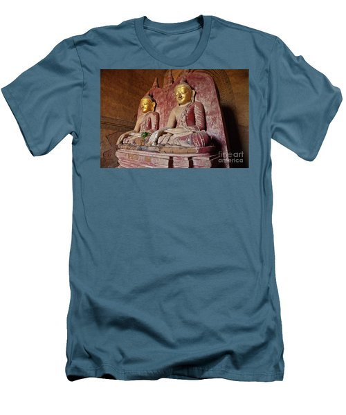 Men's T-Shirt (Slim Fit) featuring the photograph Burma_d2104 by Craig Lovell