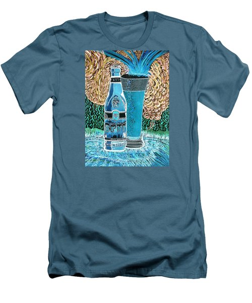 Burr Hyfe Gone Real Cold Men's T-Shirt (Slim Fit) by Connie Valasco