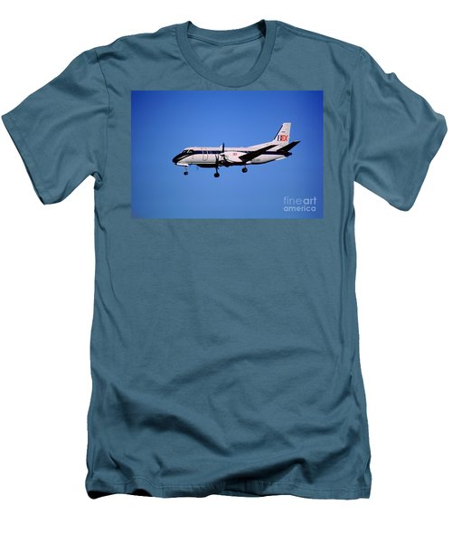 Business Express, Delta Connection, N353be, Bex Saab 340b Men's T-Shirt (Athletic Fit)