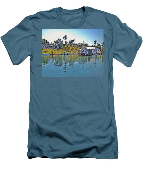 Cabbage Key Men's T-Shirt (Athletic Fit)