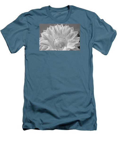 Cactus Bloom Burst Men's T-Shirt (Athletic Fit)