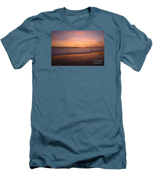 Men's T-Shirt (Athletic Fit) featuring the photograph Cardiff Reflections by John F Tsumas