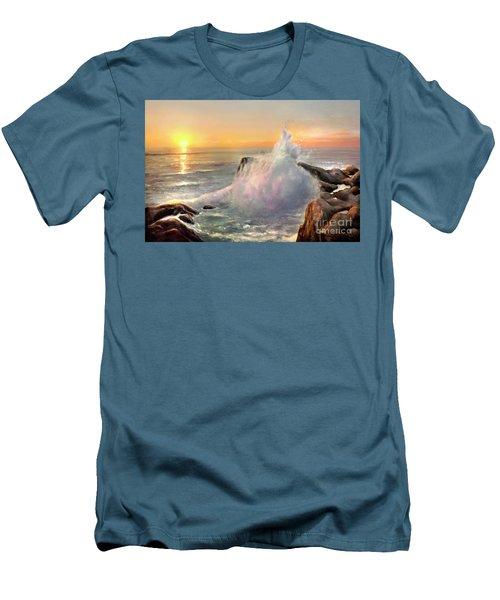 California Coast Men's T-Shirt (Slim Fit) by Michael Rock