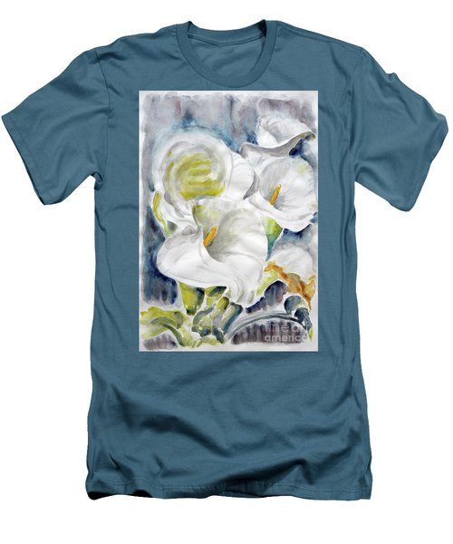 Calla Men's T-Shirt (Slim Fit) by Jasna Dragun