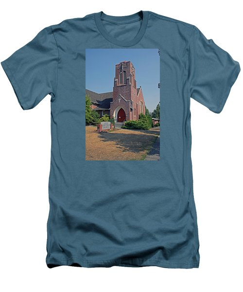 Calvary Presbyterian Church Men's T-Shirt (Athletic Fit)