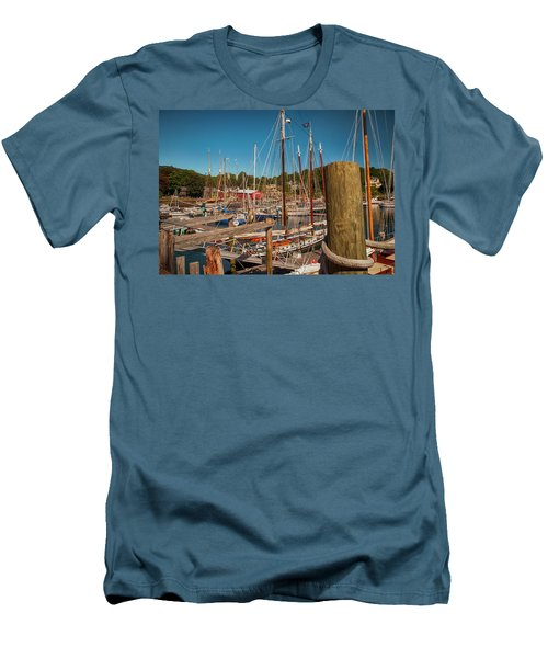 Camden Harbor Men's T-Shirt (Athletic Fit)