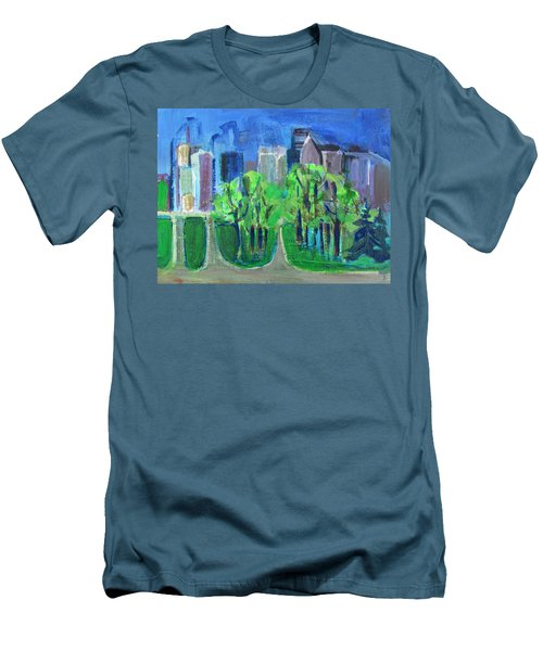 Campus Men's T-Shirt (Slim Fit) by Betty Pieper