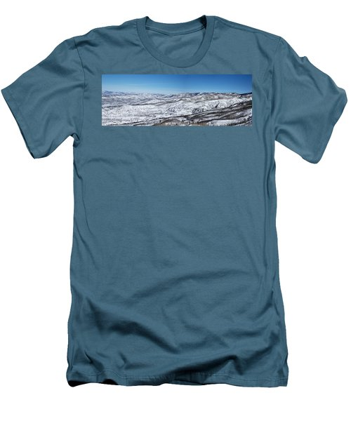 Can You Spot The Volcano Men's T-Shirt (Slim Fit) by Sean Allen