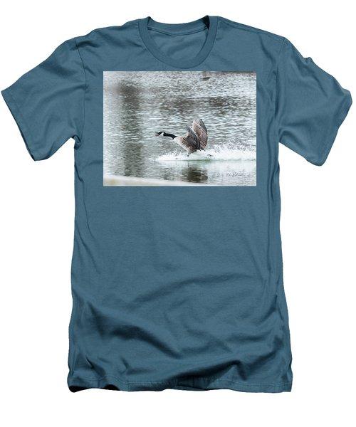 Canada Goose Landing 2 Men's T-Shirt (Slim Fit) by Edward Peterson