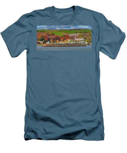 Canadian Colors Men's T-Shirt (Athletic Fit)