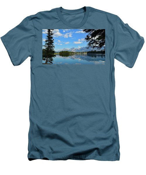 Canadian Rockies No. 4-1 Men's T-Shirt (Athletic Fit)