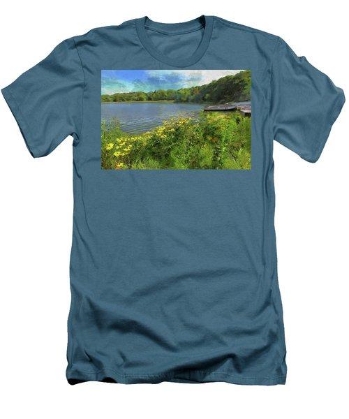 Canoe Number 9 Men's T-Shirt (Athletic Fit)