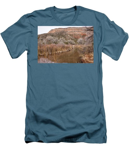 Canyon River Men's T-Shirt (Slim Fit) by Ricky Dean