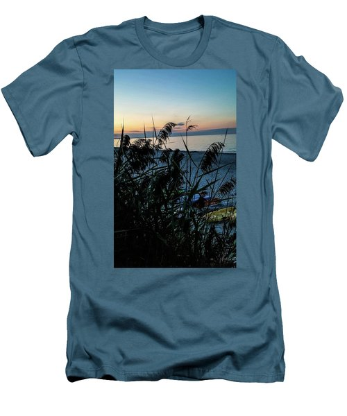 Cape Cod Bay Men's T-Shirt (Slim Fit) by Bruce Carpenter