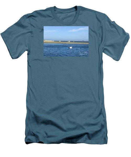 Cape Cod Tranquility Men's T-Shirt (Athletic Fit)