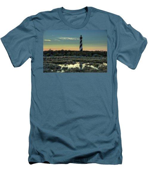 Cape Hatteras Sunset Men's T-Shirt (Slim Fit)