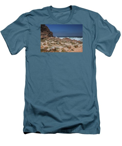 Cape Of Good Hope Men's T-Shirt (Slim Fit) by Bev Conover