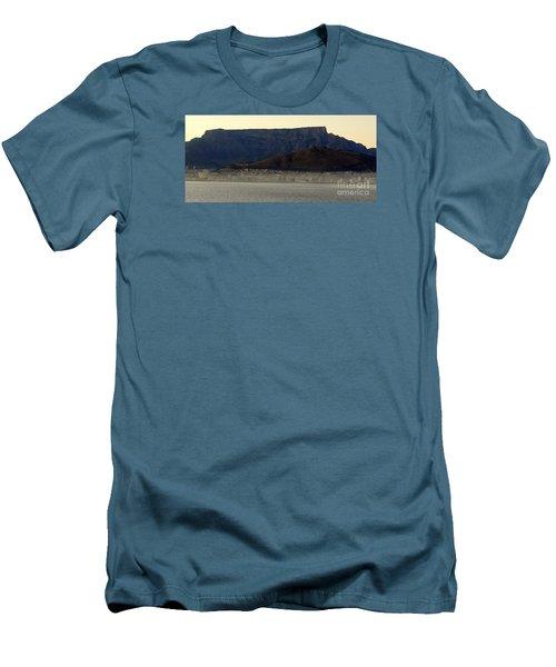 Cape Town Under Table Rock Men's T-Shirt (Slim Fit) by John Potts
