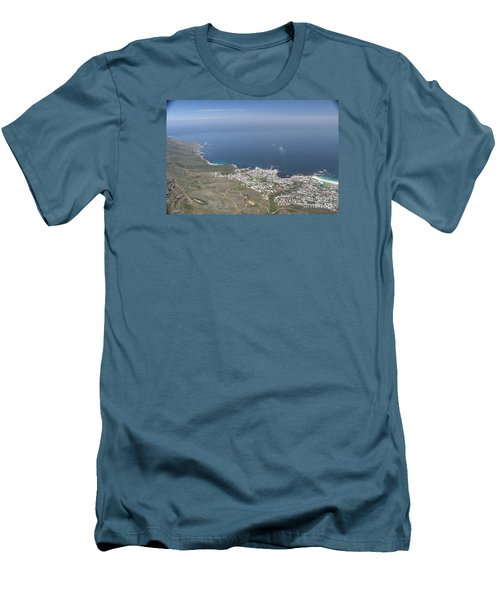 Capetown, South Africa Men's T-Shirt (Slim Fit) by Bev Conover