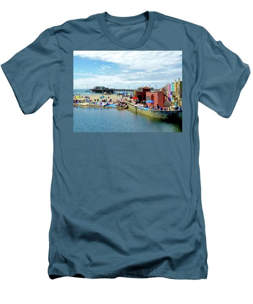 Capitola Begonia Festival Weekend Men's T-Shirt (Athletic Fit)
