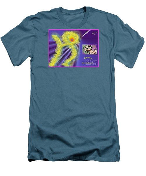 Men's T-Shirt (Slim Fit) featuring the digital art Capricorn by The Art of Alice Terrill