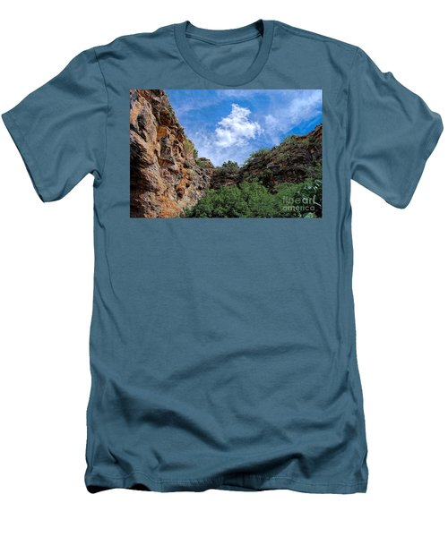 Men's T-Shirt (Slim Fit) featuring the photograph Carlsbad Caverns by Gina Savage