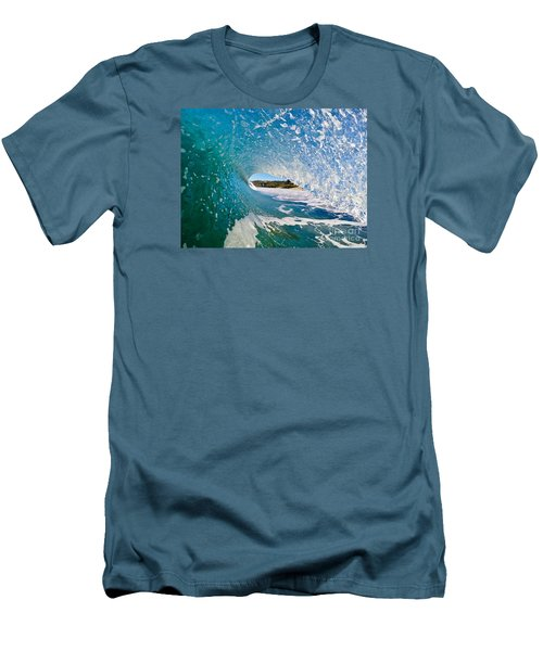 Carmel Blues Men's T-Shirt (Slim Fit) by Paul Topp