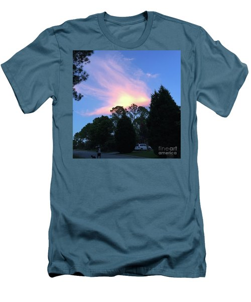 Carolina Summer Sky Men's T-Shirt (Athletic Fit)